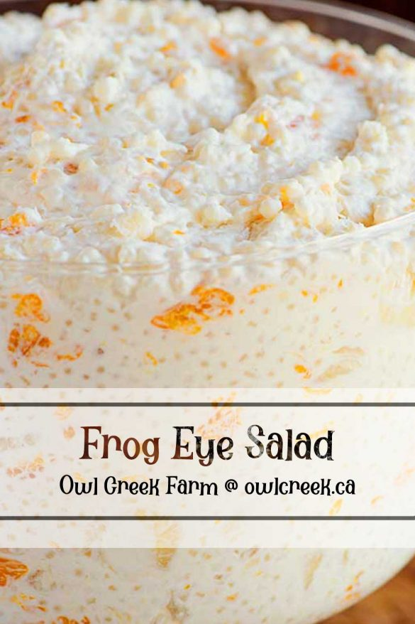 Owl Creek Farm Frog Eye Salad