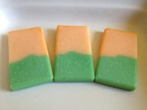 Another example for wedding favor soaps
